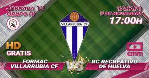 CMMPlay | Villarrubia CF- Recreativo de Huelva