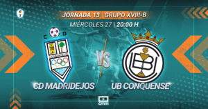 CMMPlay | CD Madridejos - UB Conquense