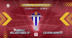 CMMPlay | Formac Villarrubia CF - CD Don Benito